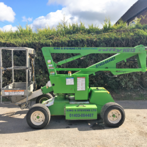 Wheeled Self Propelling 12 Metre Cherry Picker