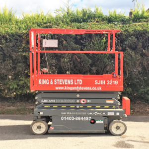 Skyjack 3219 – 7.70 Meter Electric Scissor Lift